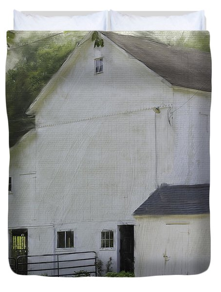 Westport Barn Duvet Cover by Fran Gallogly