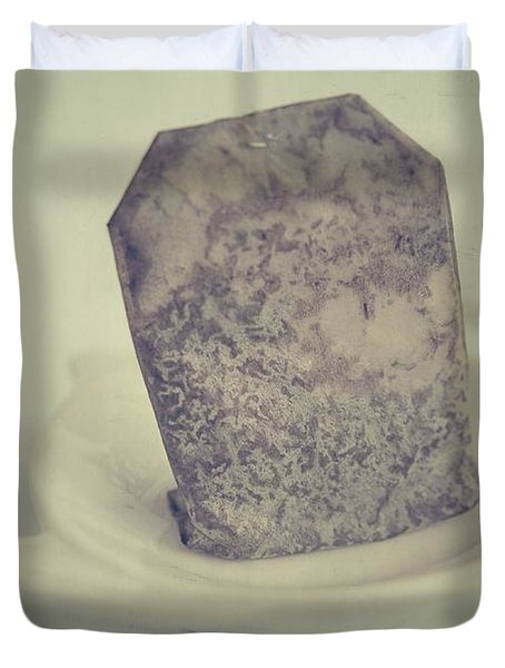 Wet Tea Bag Duvet Cover