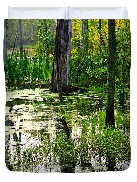 Wetlands Duvet Cover by Frozen in Time Fine Art Photography
