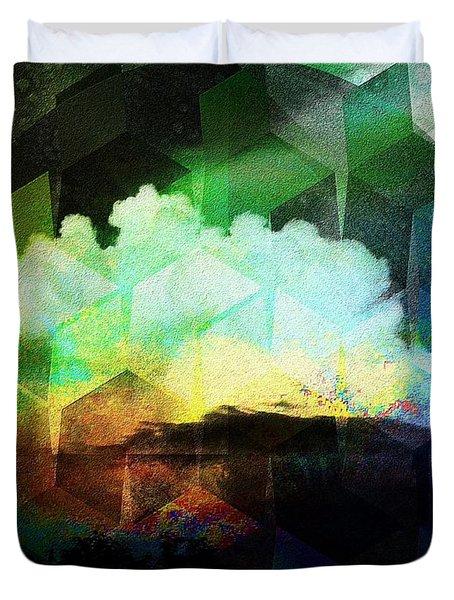 Wetterleuchten Duvet Cover