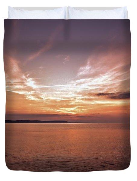 Weymoth Morning Glory Duvet Cover by Stephen Melia
