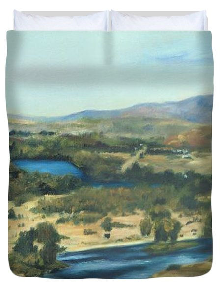 What A Dam Site Duvet Cover