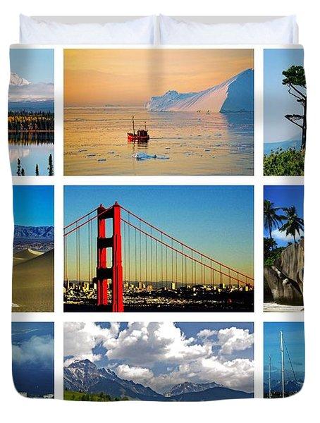 My Wonderful World ... Duvet Cover