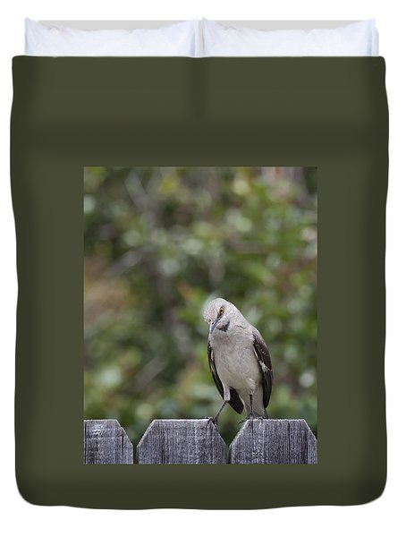 What Did You Say? Duvet Cover