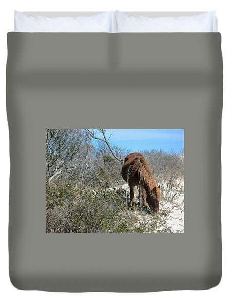 Duvet Cover featuring the photograph What Do I See Here? by Photographic Arts And Design Studio