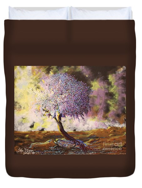 What Dreams May Come Spirit Tree Duvet Cover