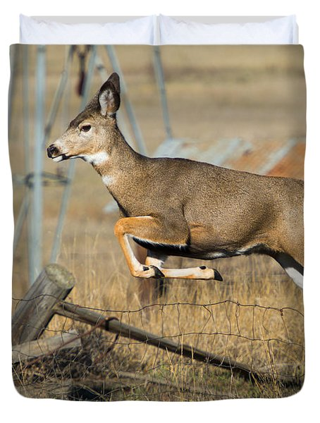 What Fence Duvet Cover
