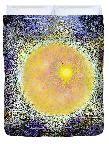 What Kind Of Sun V Duvet Cover by Carol Jacobs