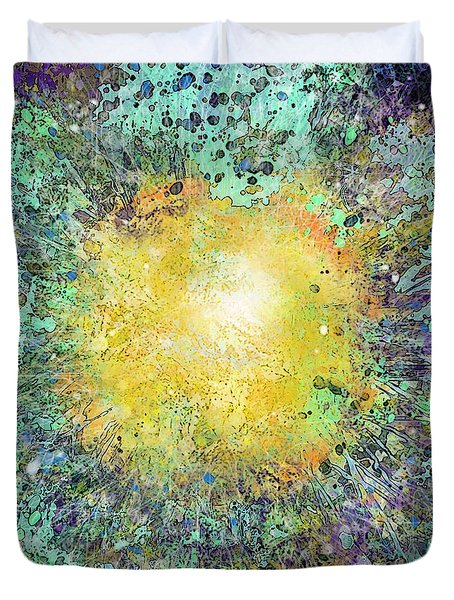 What Kind Of Sun Vii Duvet Cover by Carol Jacobs