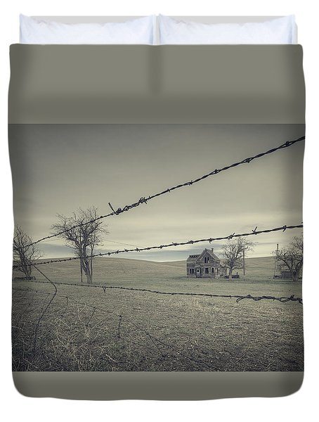 What Once Was Duvet Cover by Everet Regal