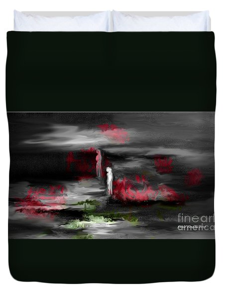 What Will Tomorrow Bring Duvet Cover by Annie Zeno