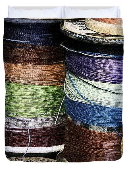 Spools Of Thread Duvet Cover