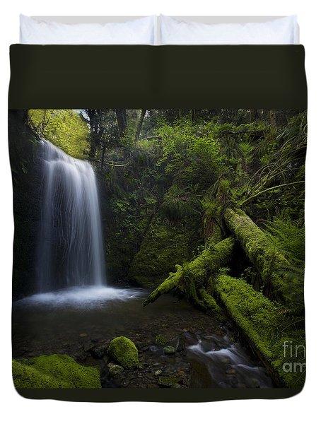 Whatcom Falls Serenity Duvet Cover