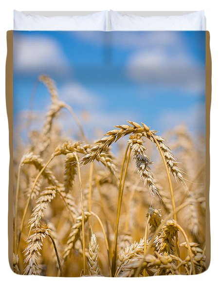 Wheat Duvet Cover