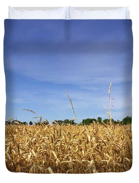 Wheat Field II Duvet Cover