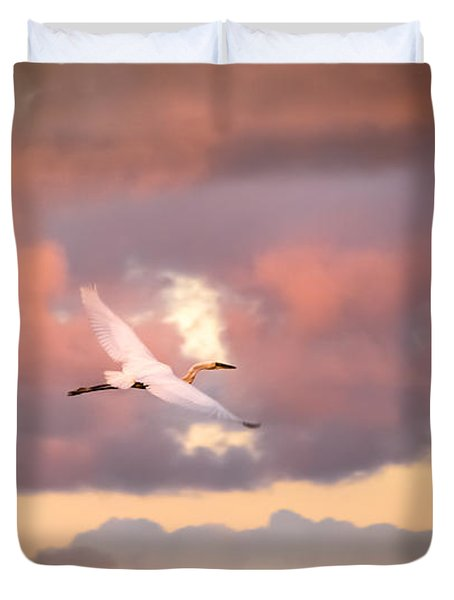 When Heaven Beckons Duvet Cover