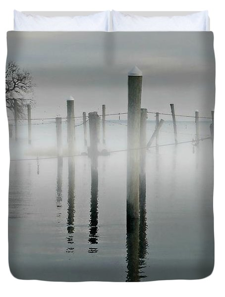 When I Look In Your Eyes Duvet Cover by Diana Angstadt