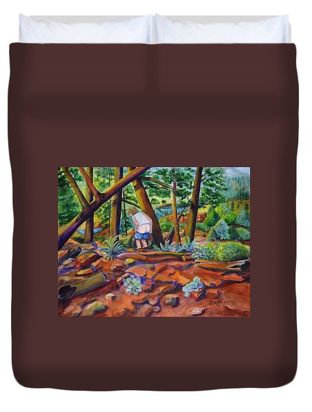 When Nature Calls Duvet Cover
