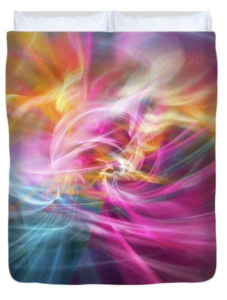 When Prayers Enter The Throne Room Duvet Cover
