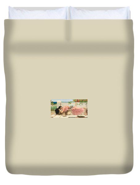 When The Heart Is Young Duvet Cover
