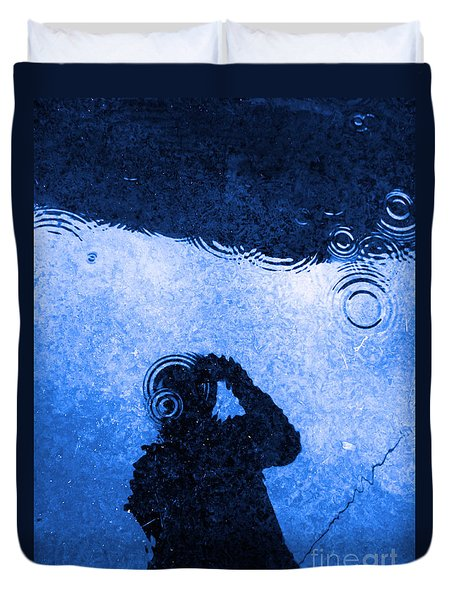When The Rain Comes Duvet Cover by Robyn King