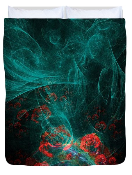 When The Smoke Clears They Bloom Duvet Cover