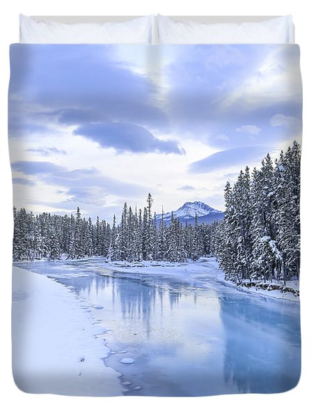 When The Trees Were Silenced Duvet Cover