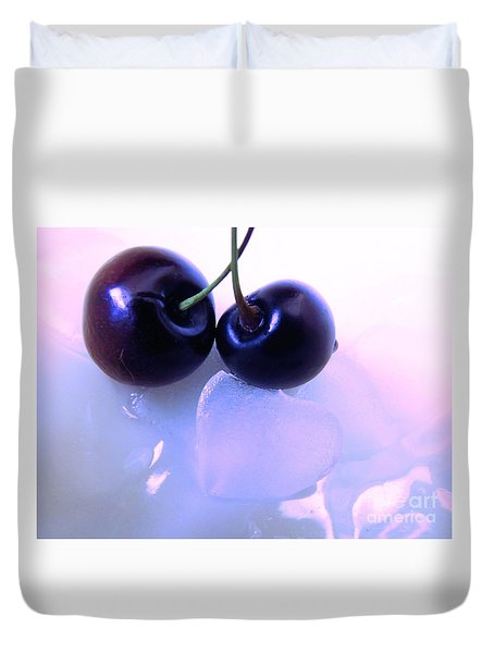 When Two Hearts Become One Duvet Cover