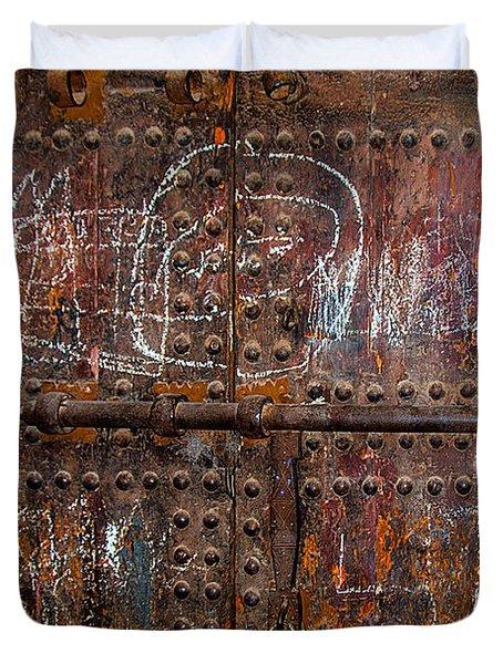 Marrakech Door Duvet Cover