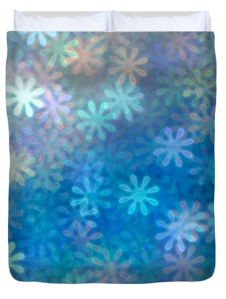 Where Have All The Flowers Gone Duvet Cover by Dazzle Zazz