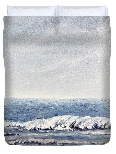 Where I Want To Be Duvet Cover by Todd A Blanchard