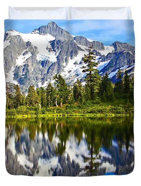 Duvet Cover featuring the photograph Where Is Up And Where Is Down by Eti Reid
