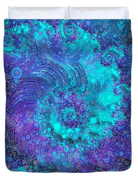 Where Mermaids Play Duvet Cover by Susan Maxwell Schmidt