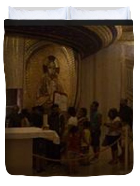 Where San Pio Rests Duvet Cover