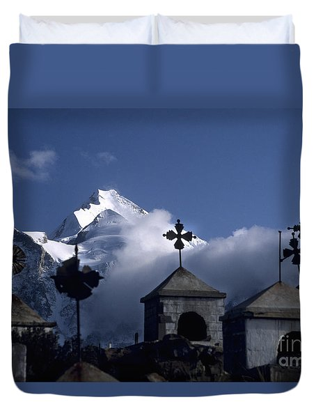 Where Spirits Roam Duvet Cover by James Brunker