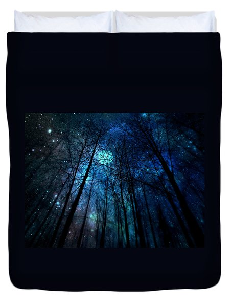 Where The Faeries Meet Duvet Cover