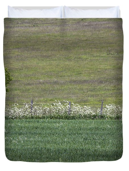 Where The Grass Is Greener Duvet Cover