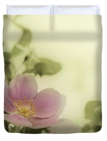 Where The Wild Roses Grow Duvet Cover