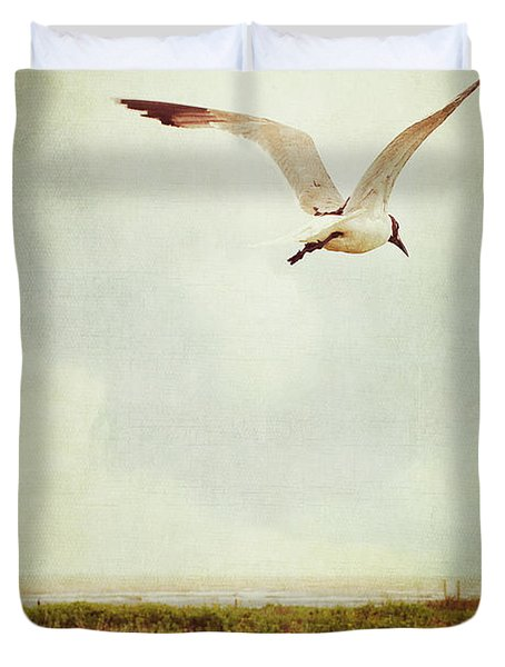 Where To Go? Duvet Cover by Trish Mistric