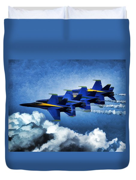 Where You Lead Duvet Cover