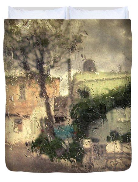 Wherever I Go Duvet Cover by Taylan Apukovska