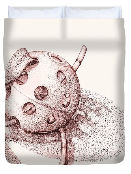Whiffle Ball  Duvet Cover