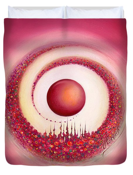 Whirl Of Creation Duvet Cover