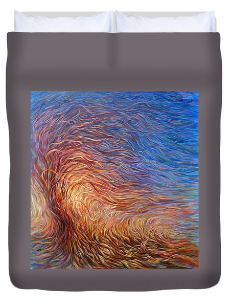 Whirl Tree Duvet Cover