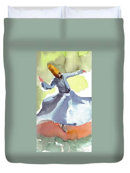 Whirling Dervish Duvet Cover