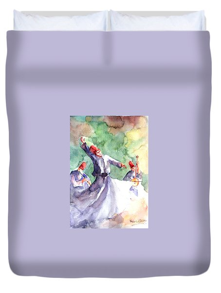 Whirling Dervishes Duvet Cover