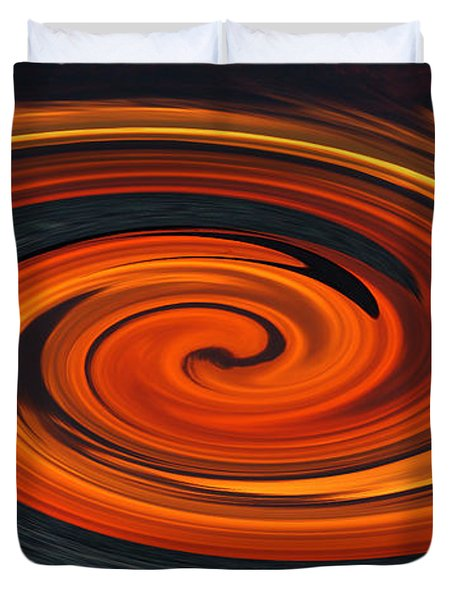 Duvet Cover featuring the photograph Whirlpool by Aimee L Maher Photography and Art Visit ALMGallerydotcom