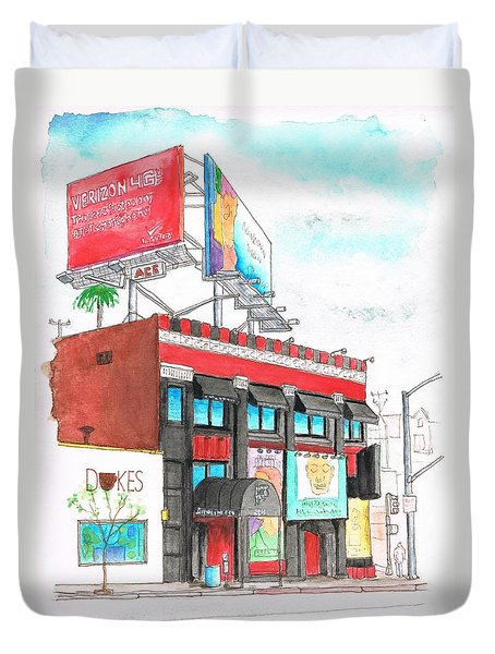 Whisky-a-go-go In West Hollywood - California Duvet Cover