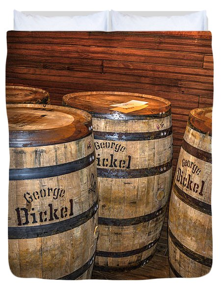 Whisky Barrels Duvet Cover