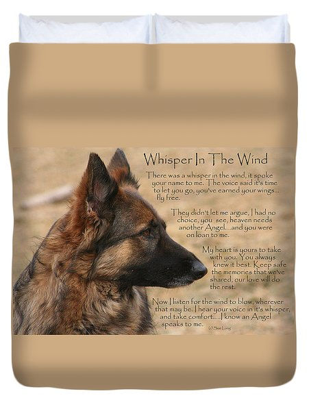 Whisper In The Wind Duvet Cover